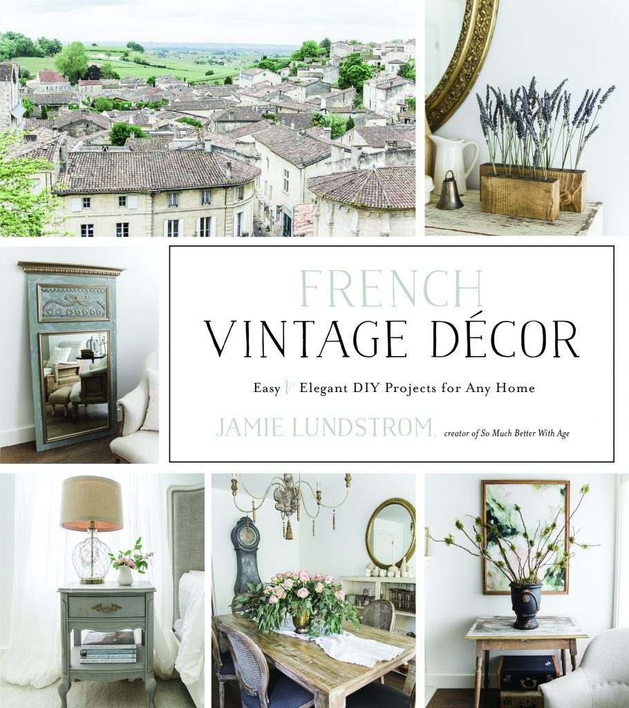 french vintage decor book jamie lundstrom