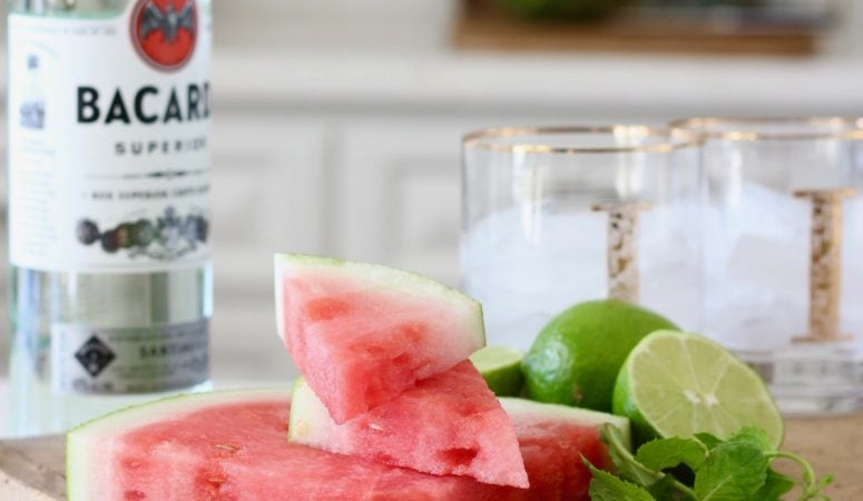 Watermelon Mojito Recipe – The Perfect Summer Cocktail!