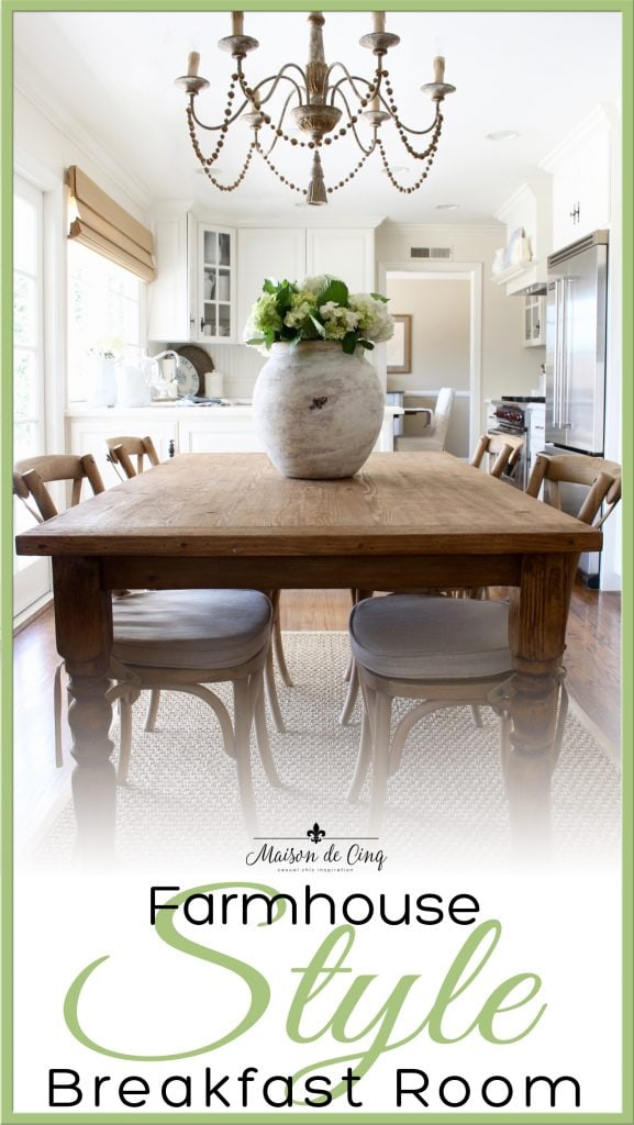 farmhouse table french country breakfast area banner