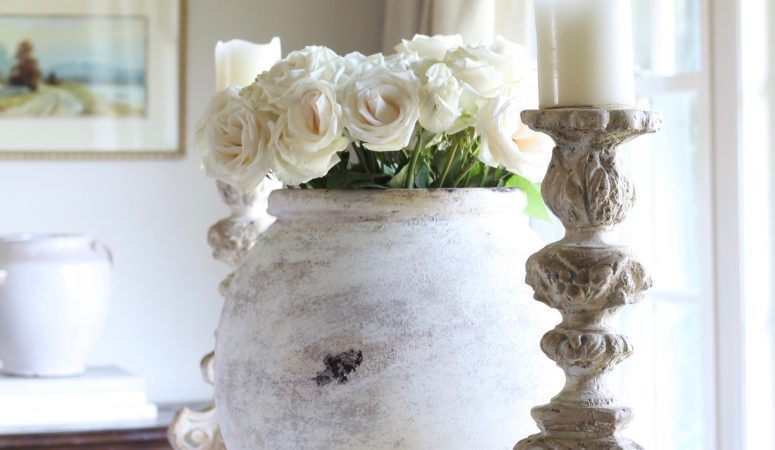 Antique French Olive Jars and How to Get the Look