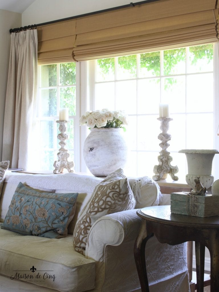 antique french olive jars get the look modern french country living room