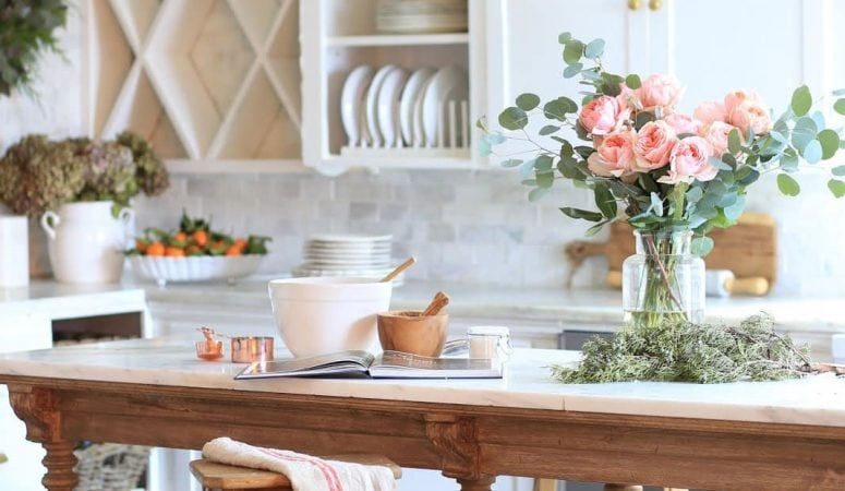 French Country Fridays – French Kitchens, Decor, and a Little Fall…