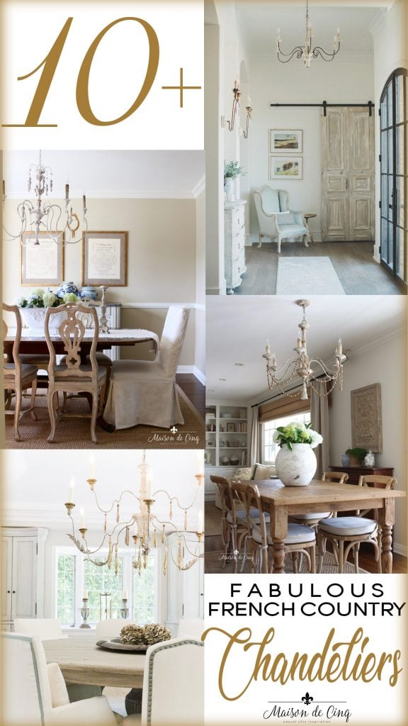 french country chandeliers 10+ gorgeous inspiring examples