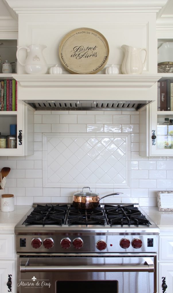 decorating with copper white farmhouse kitchen with copper pot