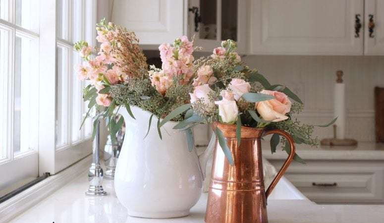 French Country Fridays – Fall Decorating with Copper
