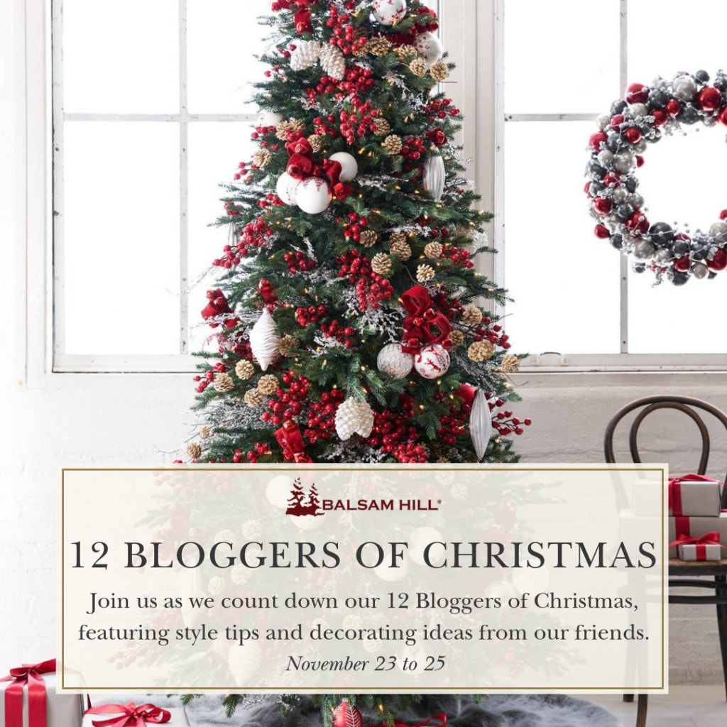 12 bloggers of christmas balsam hill christmas tour decor inspiration