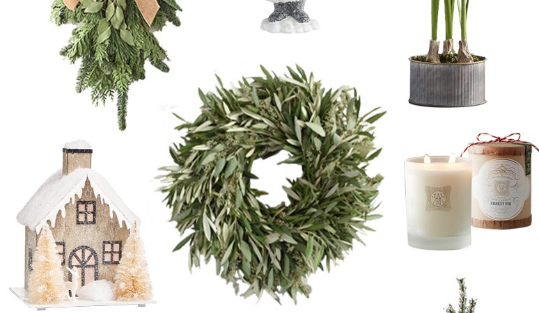 Natural & Neutral French Christmas Decor