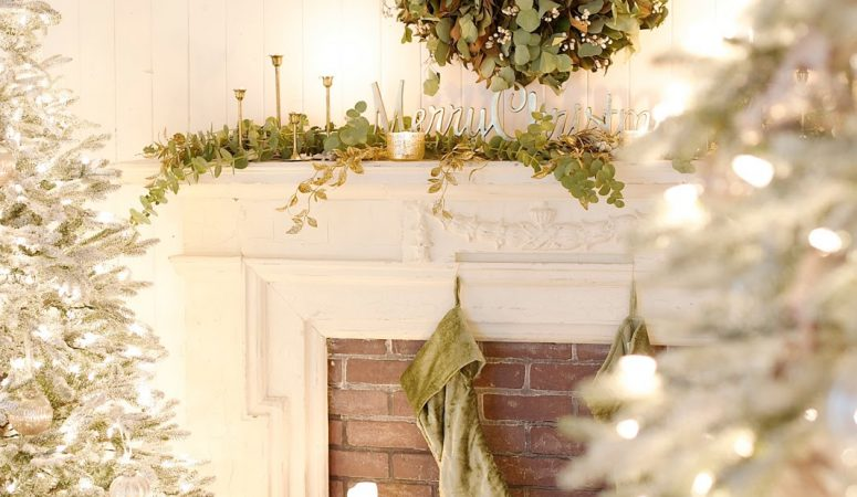 French Country Fridays – Gorgeous French Inspired Holiday Decor