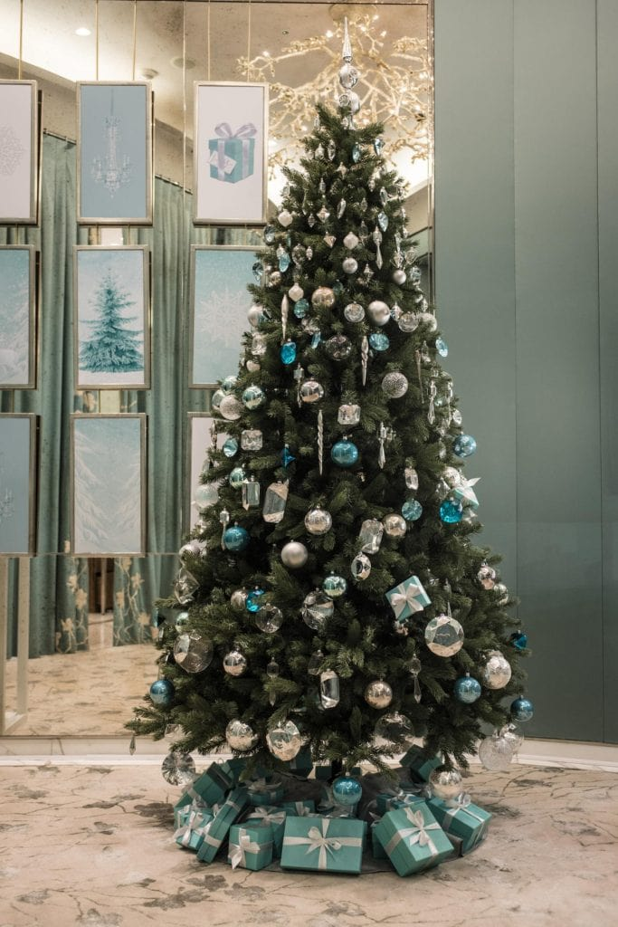 blue christmas decor ideas tiffany blue christmas tree