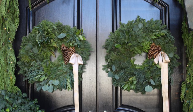 Soft & Subtle Christmas Front Porch