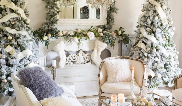 French Country Fridays – French Inspired Christmas Decorating!
