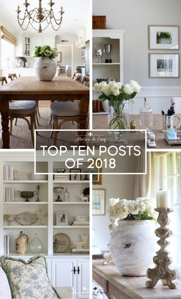 maison de cinq top ten posts of 2018