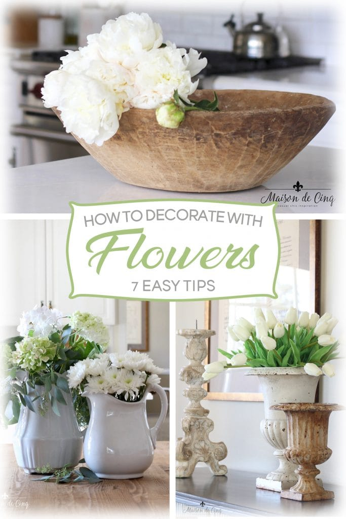 how to decorate with flowers 7 easy and stylish tips peonies hydrangeas tulips white flowers