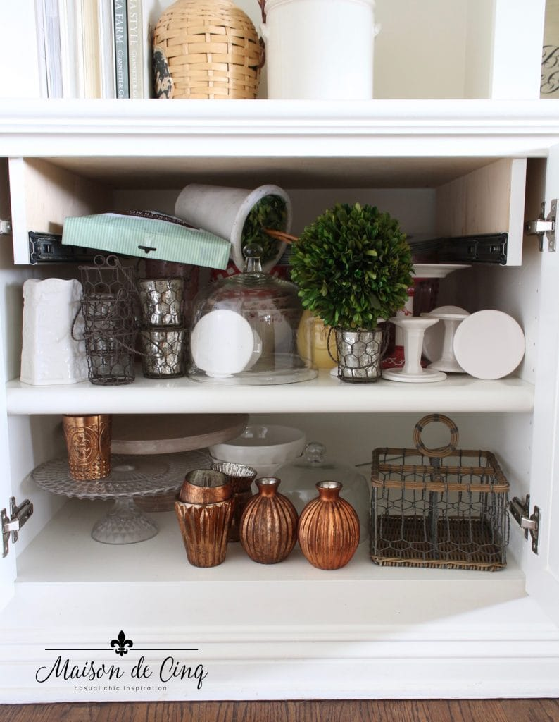 tips for organizing cabinets messy before clutter