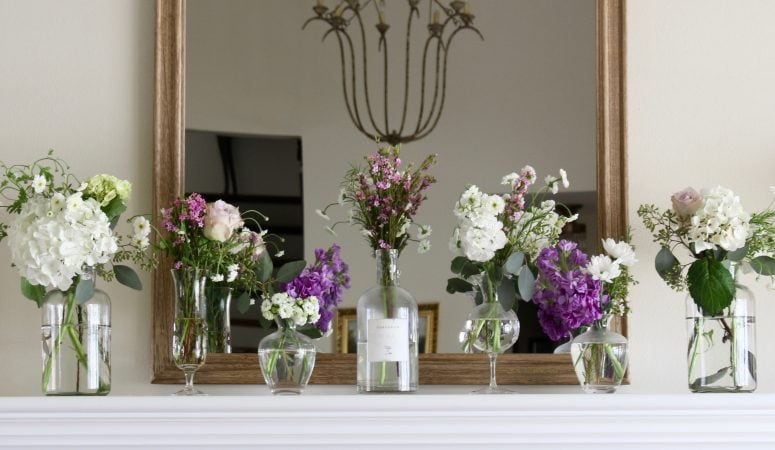 French Country Fridays – Spring Mantels, Tables, & More