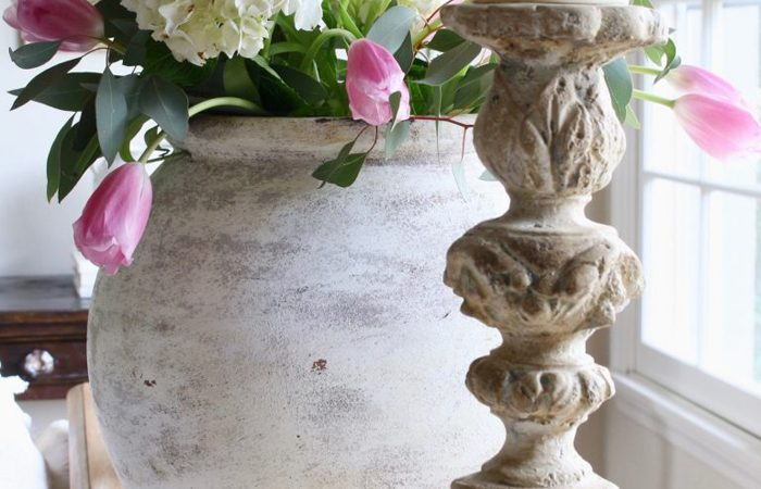 French Country Fridays – A Charming Greenhouse & Lots of Spring Decor!