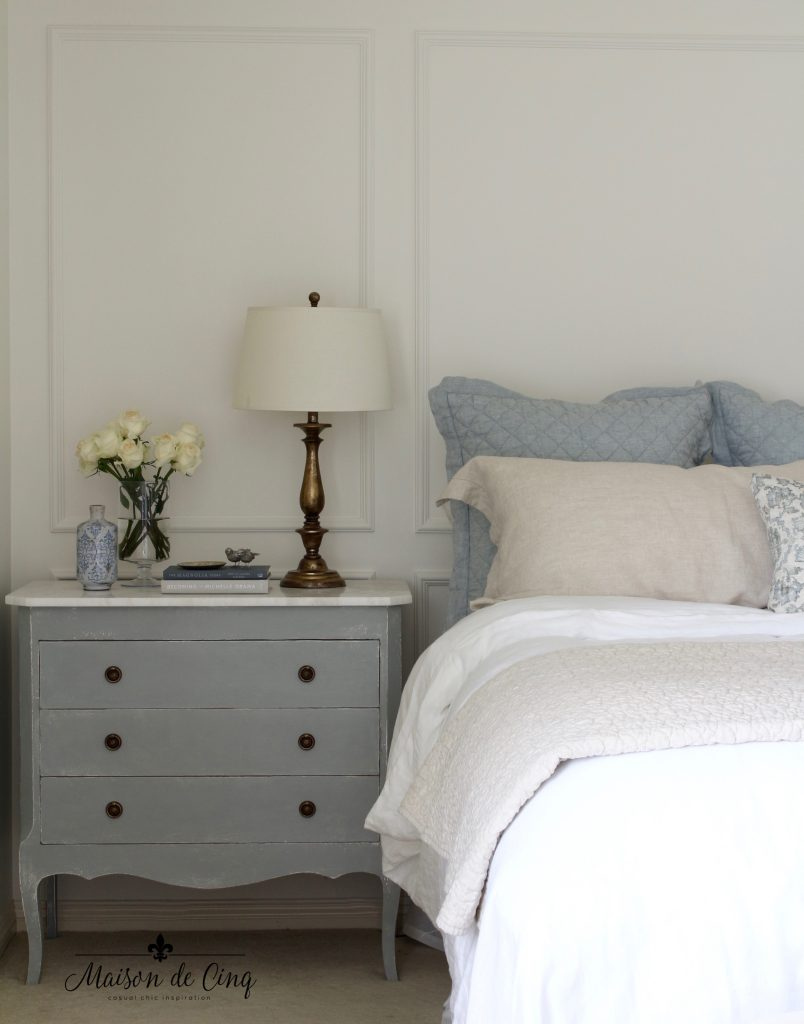 French Inspired Master Bedroom Makeover One Room Challenge Reveal