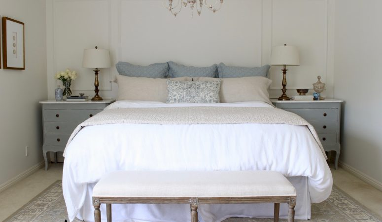 French Farmhouse Master Bedroom Makeover – The One Room Challenge Reveal!