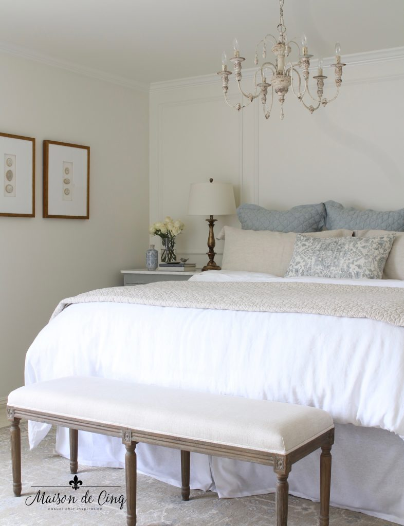french inspired master bedroom makeover reveal one room challenge