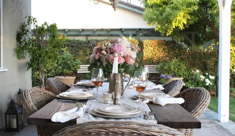 French Country Fridays – Summer Tables & Outdoor Entertaining Ideas