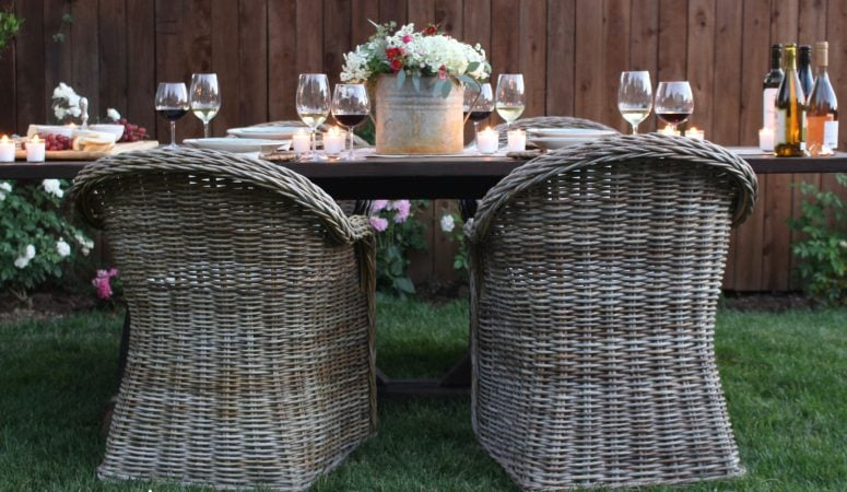 An Evening in the Garden – a Summer Wine & Cheese Party