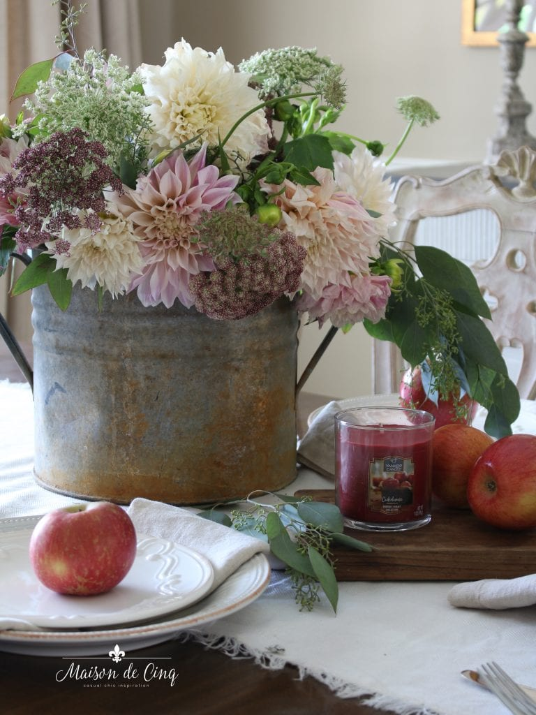 yankee candle farmers market collection ciderhouse fragrance gorgeous vignette flowers candle apples