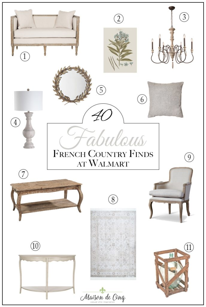 top posts of 2019 Fabulous French farmhouse finds at Walmart