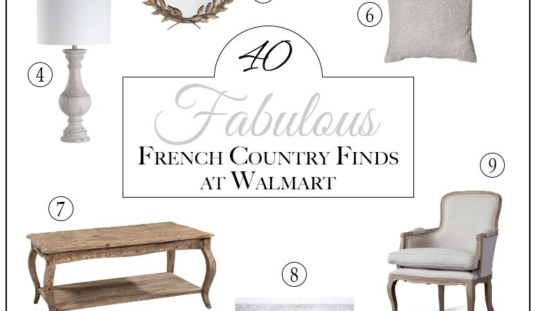 40+ Fabulous French Country Finds at Walmart!