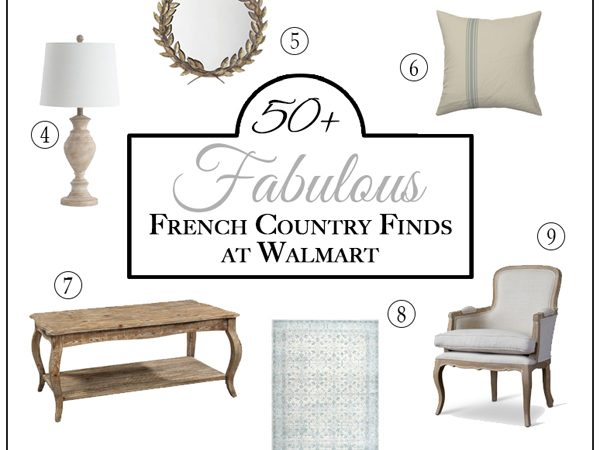 50+ Fabulous French Country Finds at Walmart!