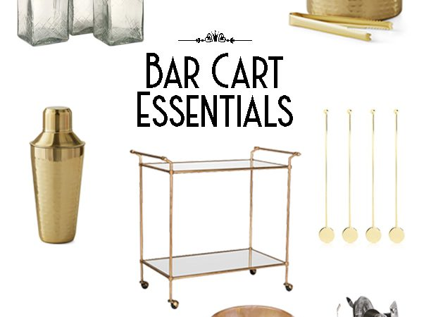 Bar Cart Styling – Building the Perfect Bar Cart