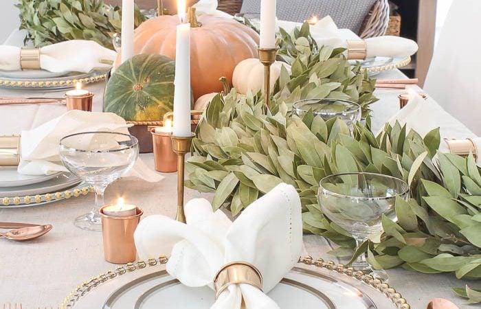 20+ Inspiring Thanksgiving Table Settings