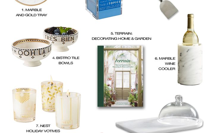 Holiday Gift Guide: 10+ Perfect Hostess Gift Ideas!