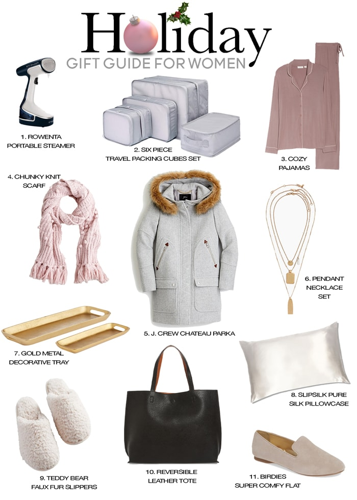 holiday gift ideas for women favorite things holiday gift guide 2019