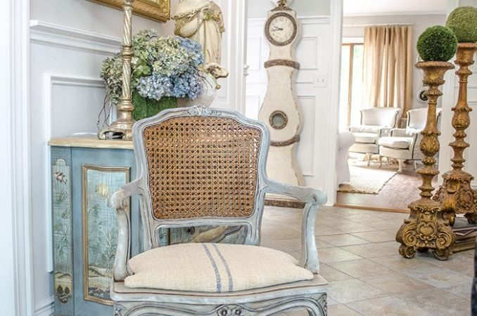 French Country Fridays: Transitioning to Winter Decor and More