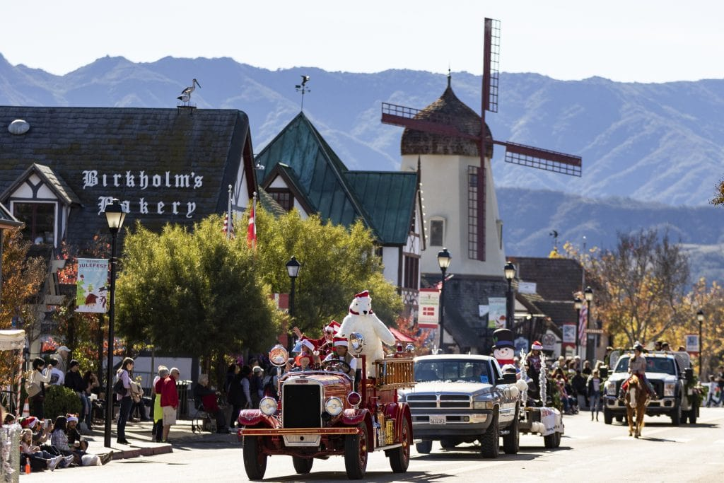 solvang california christmas parade things to do in southern california
