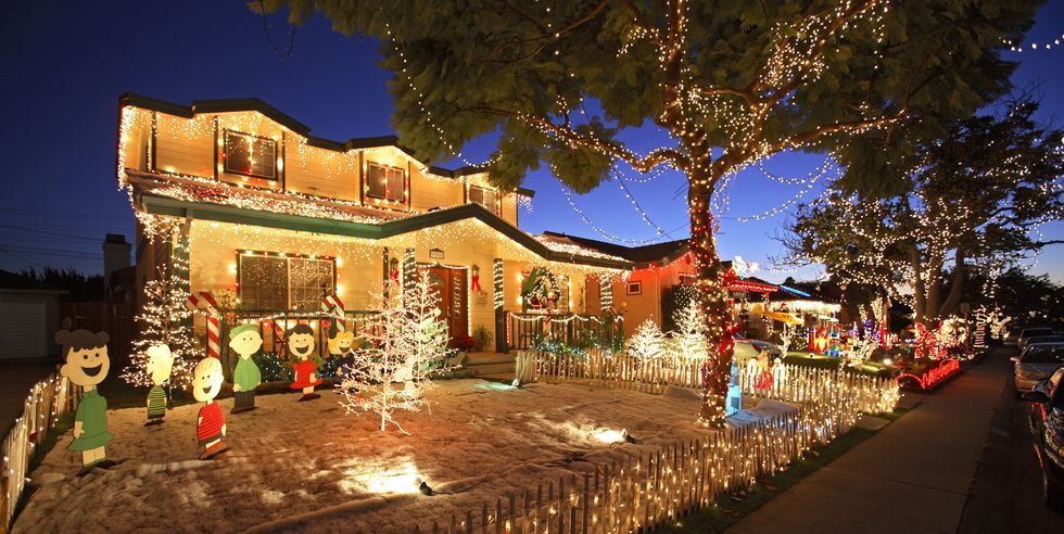 candy cane lane woodland hills christmas light display