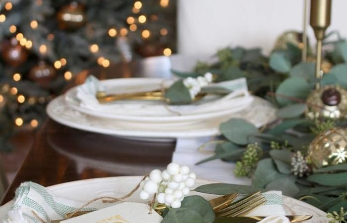 French Country Fridays – Christmas Kitchens, Tablescapes, and More!