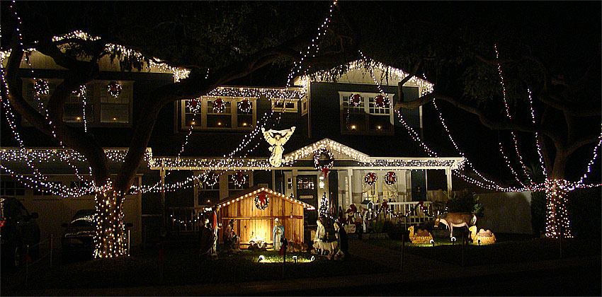 sleep hollow christmas lights viewing southern california