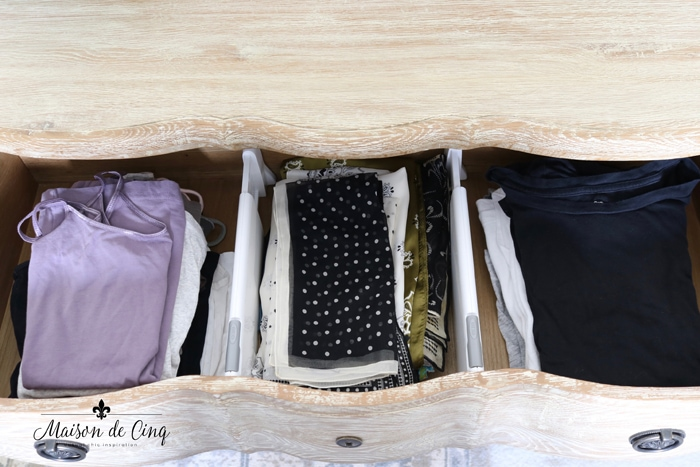 organizing tips use drawer dividers in dresser