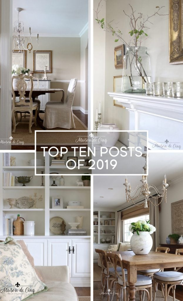 Top Ten Posts of 2019 on Maison de Cinq