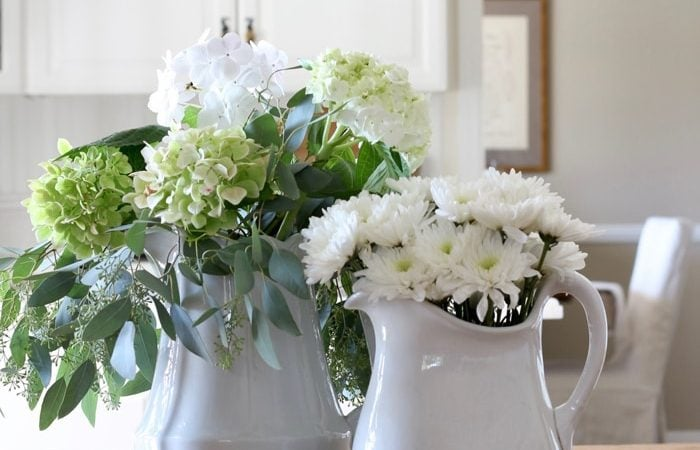 French Country Fridays – How to Decorate with Flowers
