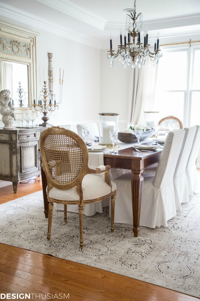 decorating tips add antiques French country dining room