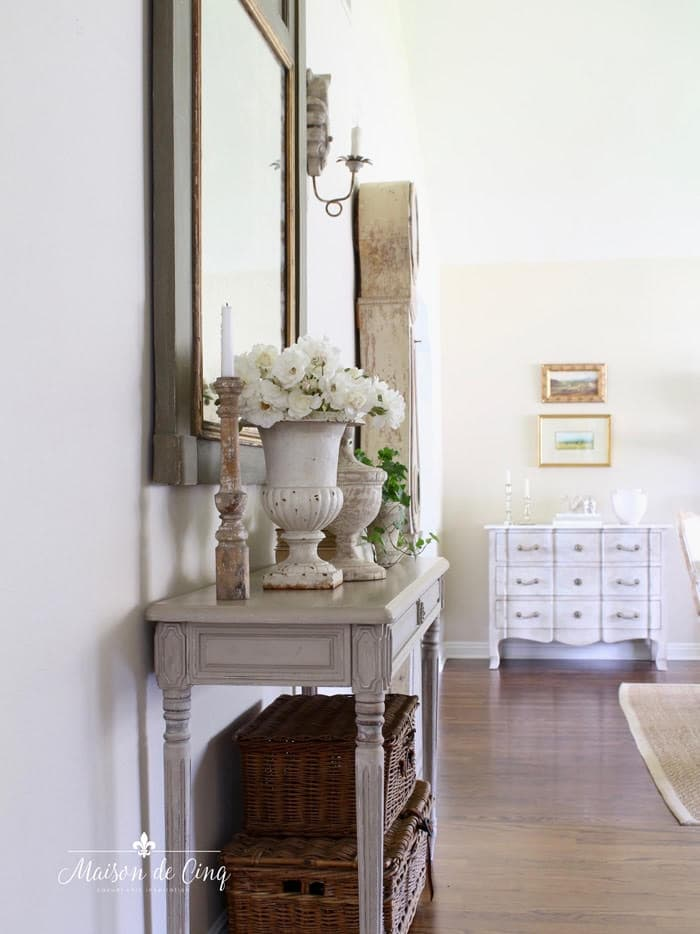 decorating tips using texture in interiors gorgeous French country entry way