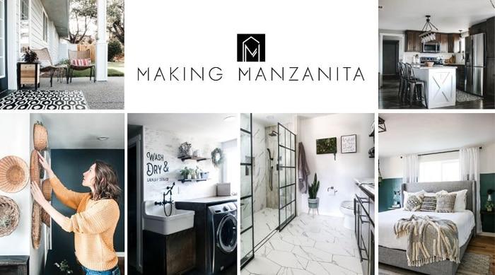 making manzanita home decor blogger