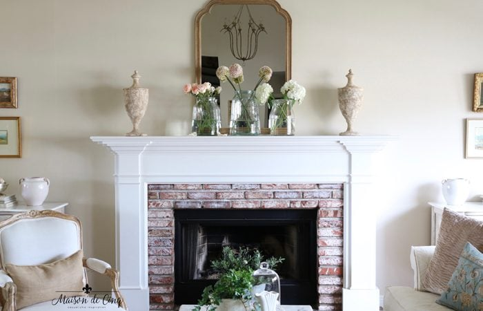 Easy Spring Decorating in the Living Room: 20+ Spring Mantel Ideas