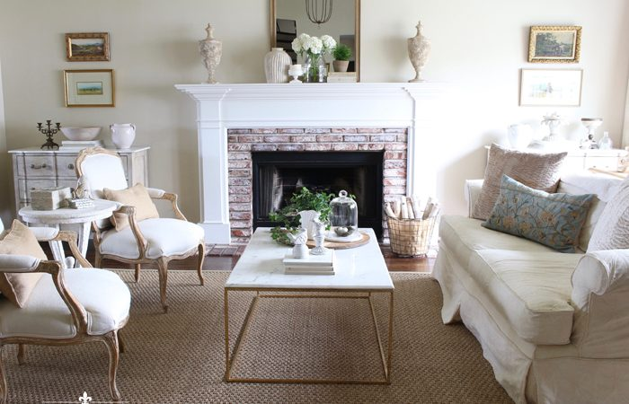 Spring Living Room: A Simple and Easy Spring Refresh
