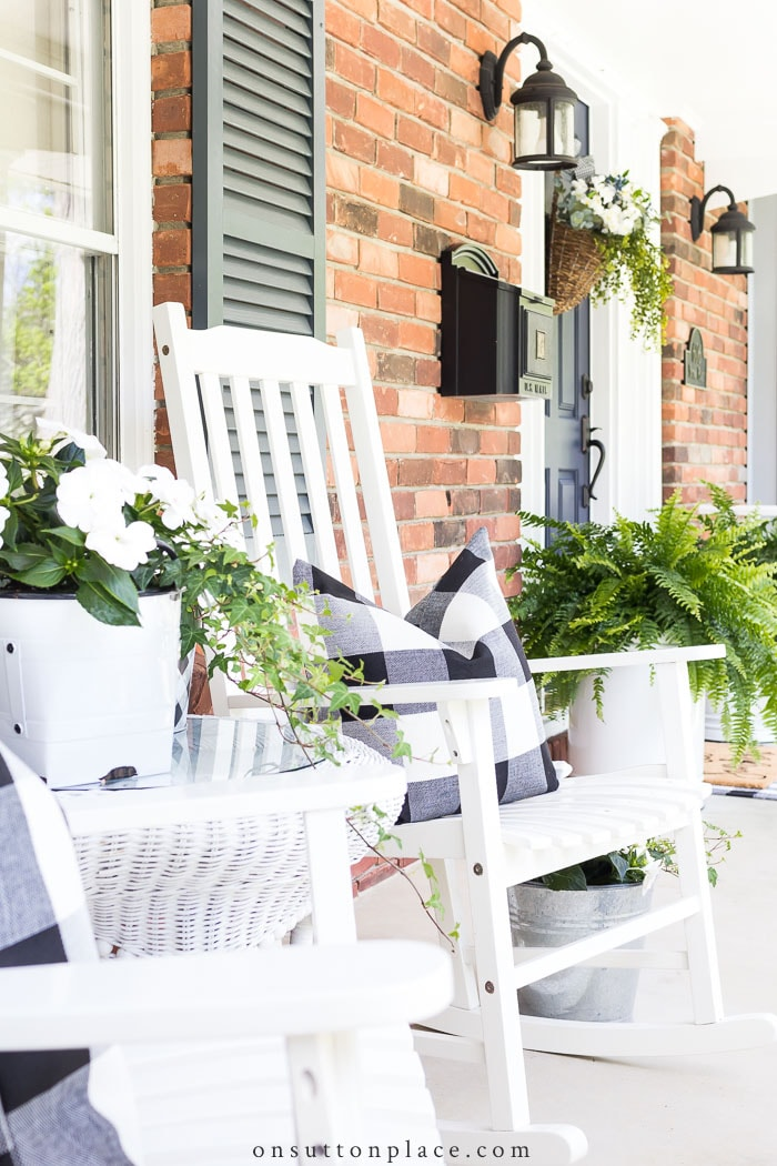 porch decorating ideas summer decor