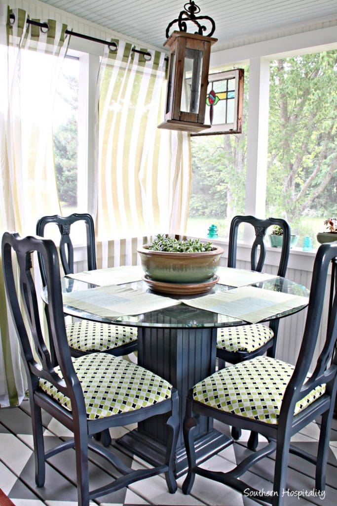 outdoor dining area decorating ideas