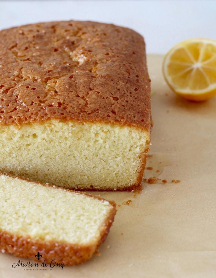 gorgeous lemon pound cake