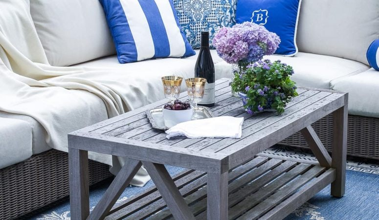 French Country Fridays – Patios, Rugs, & Some Summer Decor